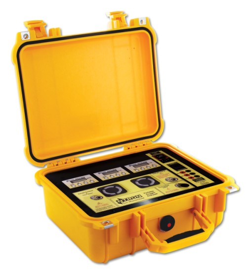 Yellowbox oxygen analyzer